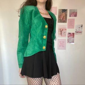 Vintage 80s Danier suede jacket